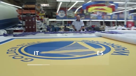 Making of the Championship Banner