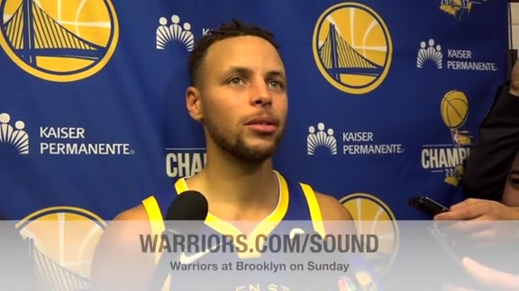 Warriors Sound: Dubs Turn Quickly for Road Back-to-Back
