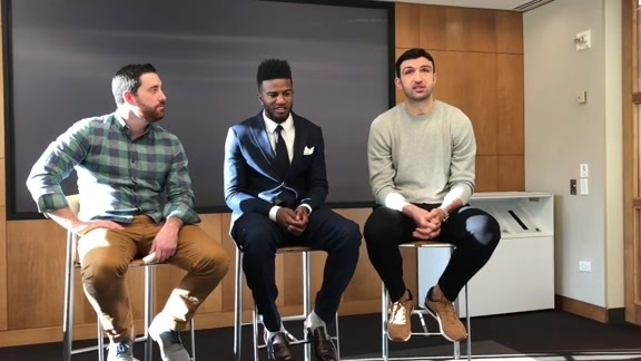 Warriors Sound: Dubs Visit NBA Offices