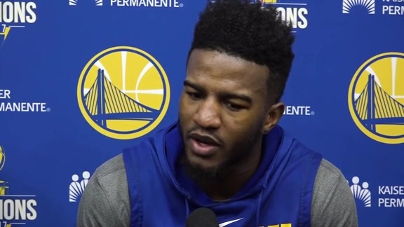 Warriors Talk: Jordan Bell - 11/2417
