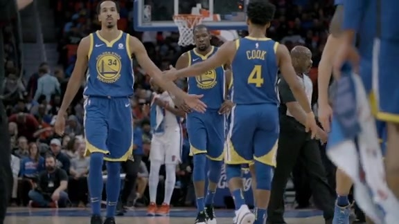 Warriors Shorts: Completing the Job
