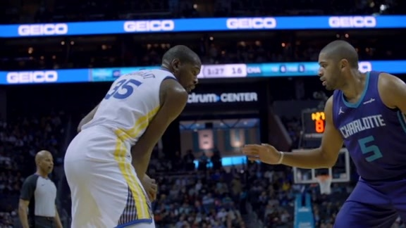 Warriors Sound: KD Named Player of the Week