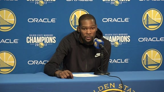 Postgame Warriors Talk: Kevin Durant - 12/11/17