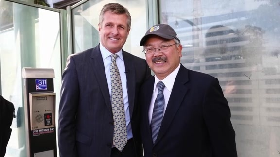Rick Welts Discusses the Passing of SF Mayor Ed Lee