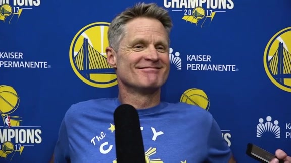 Warriors Talk: Steve Kerr - 12/13/17
