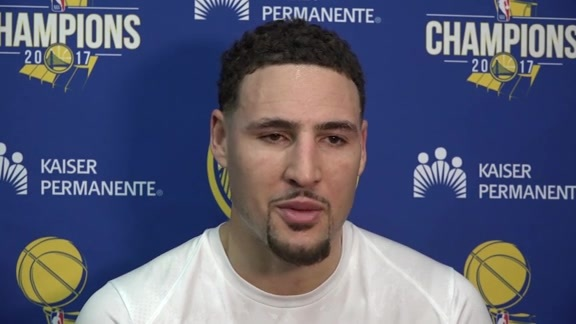 Warriors Talk: Klay Thompson - 12/14/17