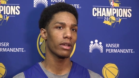Warriors Talk: Patrick McCaw - 12/14/17