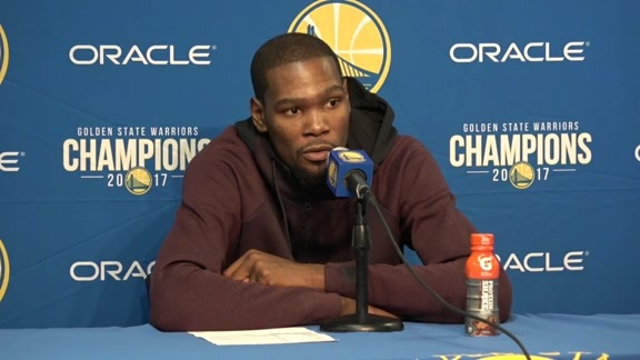 Postgame Warriors Talk: Kevin Durant - 12/14/17