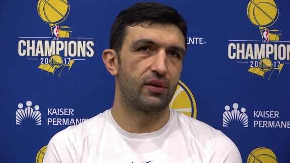 Warriors Talk: Zaza Pachulia - 12/17/17