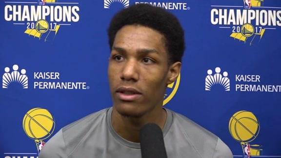 Warriors Talk: Patrick McCaw - 12/17/17