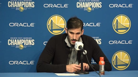 Postgame Warriors Talk: Omri Casspi - 12/22/17