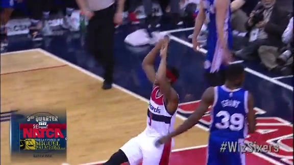 NATCA Flight of the Night: #WizSixers - 2/5/16