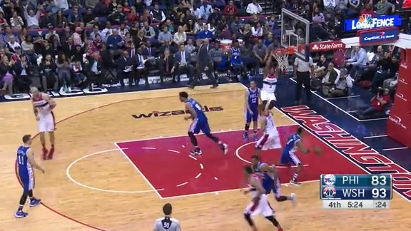 Wizards Plays of the Week - 2/8/16