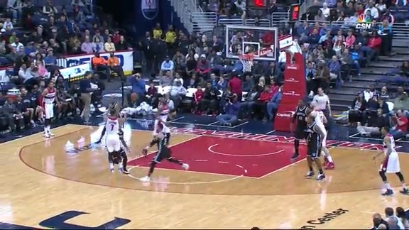 Wizards Plays of the Week - 4/11/16