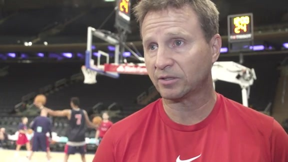 Scott Brooks Shootaround - 10/13/17