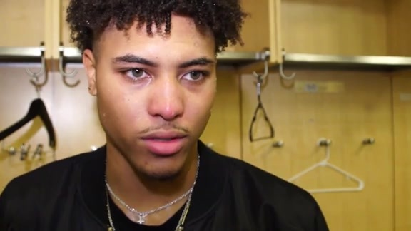 Kelly Oubre Jr. Postgame - 10/13/17