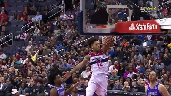 Highlights: Wizards vs. Kings 11/13/2017