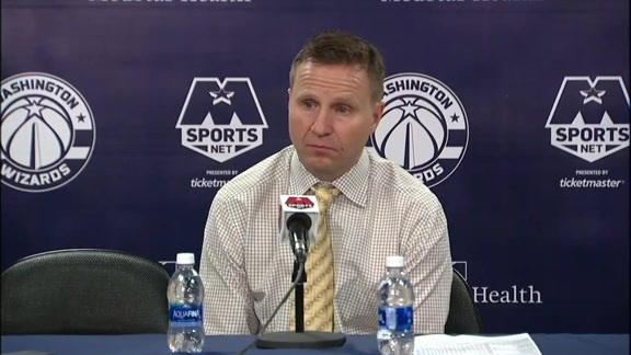 Coach Brooks Postgame vs. DET - 12/1/17
