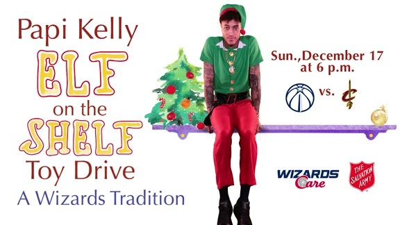 Kelly Oubre Jr. Toy Drive Announcement