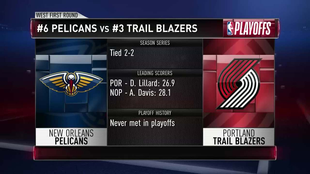 Who Is Portland's X-Factor, How Will The Pelicans Stop The Blazers' Guards?