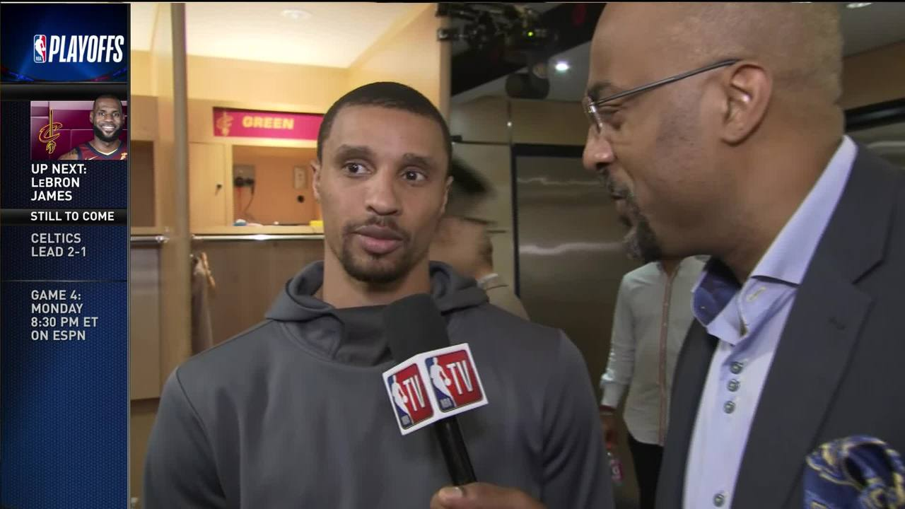 George Hill Postgame Interview with Dennis Scott