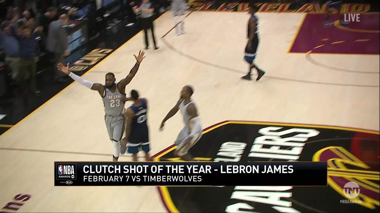 NBA Play Of The Year: LeBron James