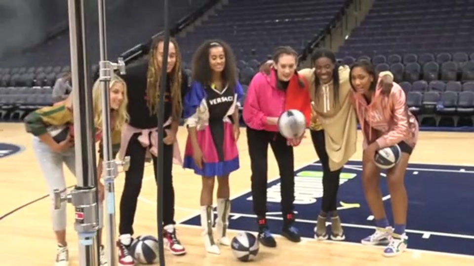 WNBA All Stars Take Us Behind the Scenes at InStyle Photo Shoot - WNBA.com - Official Site of the WNBA