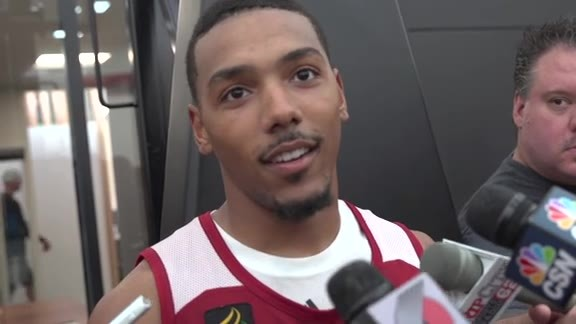 Phil Pressey on First Practice in Portland: