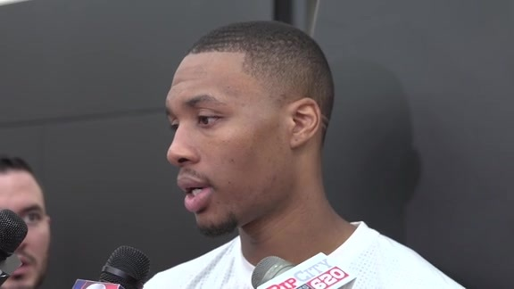 Damian Lillard on First Day of Training Camp: