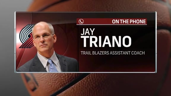 Assistant Coach Jay Triano Joins Courtside