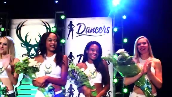 Milwaukee Bucks Dancers Audition Finale