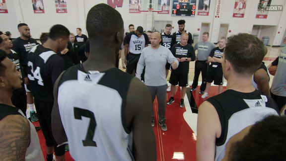 Training Camp All-Access: The Beginning
