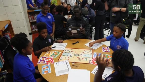 Bucks & GE Healthcare Expand NBA Math Hoops Program