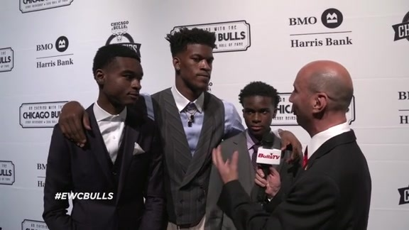 An Evening With the Chicago Bulls: Jimmy Butler - 10.21