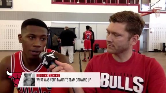 Bulls Media Day with Kris Dunn
