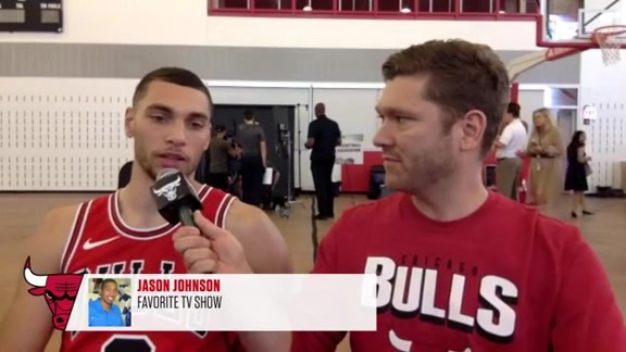 Bulls Media Day with Zach LaVine
