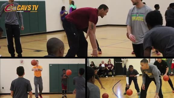 Cavs Columbus Clinic - October 11, 2015