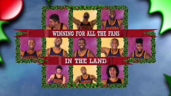 Cavs Serenade You for the Holidays