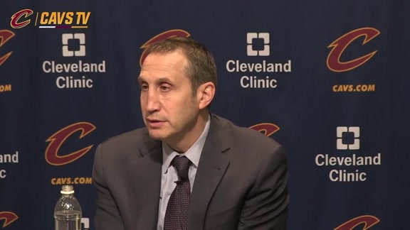 Postgame: Coach Blatt – December 17, 2015