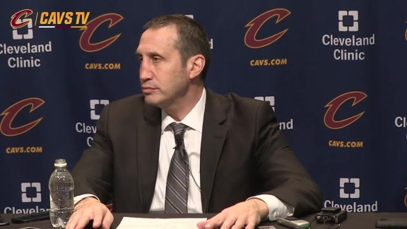 Postgame: Coach Blatt – December 20, 2015