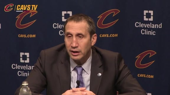 Postgame: Coach Blatt – December 23, 2015