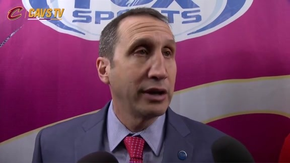 Postgame: Coach Blatt – January 8, 2016