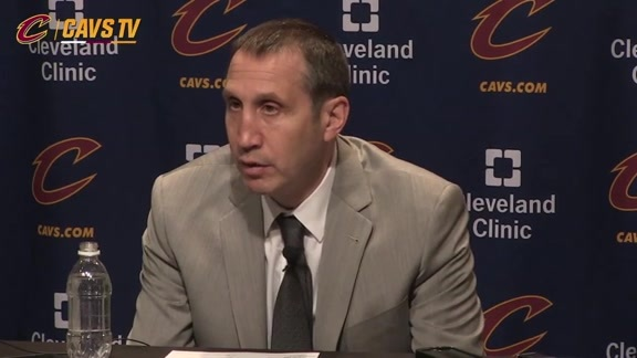 Postgame: Coach Blatt – January 18, 2016
