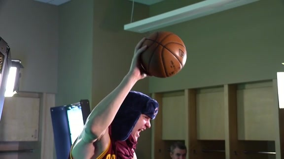 Mozgov Commercial Behind-the-Scenes