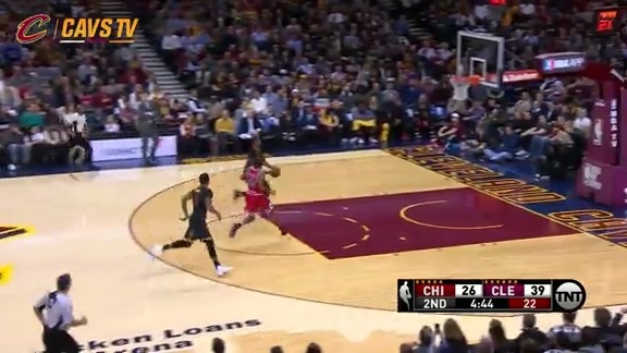 Tristan with the Steal and Slam - February 18, 2016