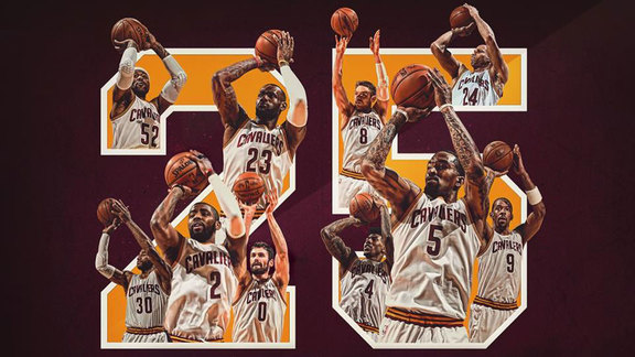 Cavs Set NBA Record with 25 Three-Pointers - May 4, 2016