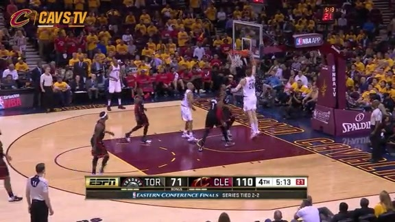 Mozgov with the Flush - May 25, 2016