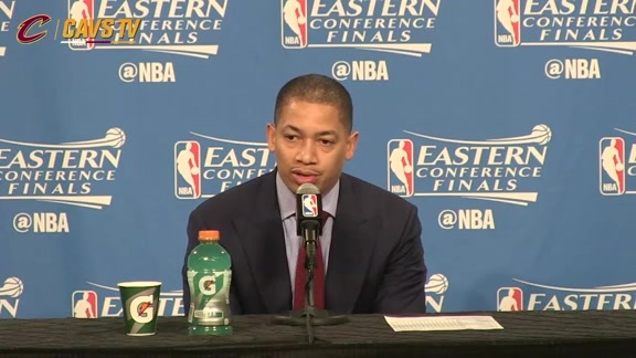 Game 5 Postgame: Coach Lue - May 25, 2016