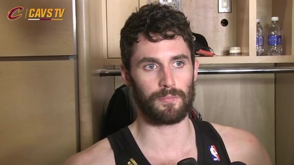 Game 5 Postgame: Kevin Love - May 25, 2016