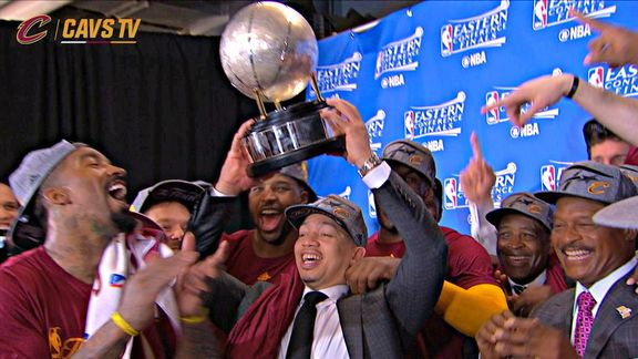 Presentation of the Eastern Conference Finals Championship - May 27, 2016